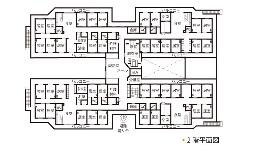 案内図2階
