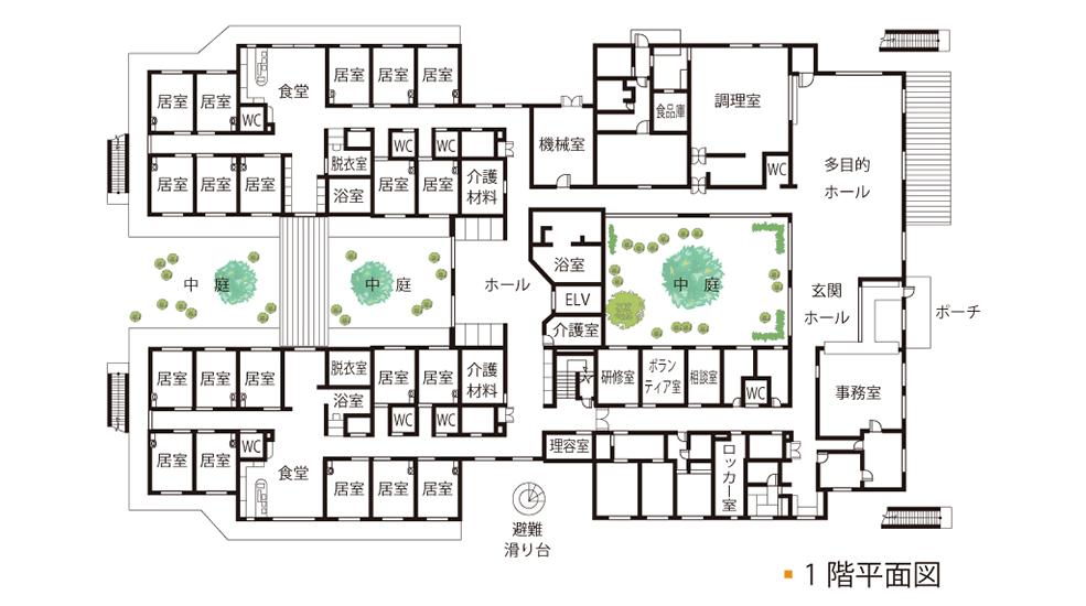 案内図1階